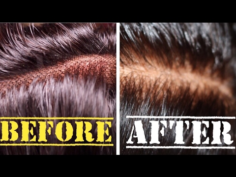 Bleaching My Lace Closure Knots + Natural Looking Application Beginner Friendly