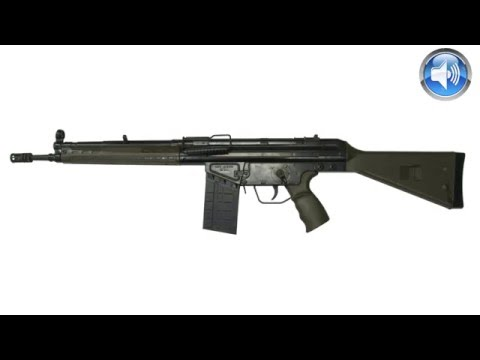 G3 Assault Rifle Sound Effect Loud Bang Noise Track Download !I! One Gunshot Sound Effect Rifle