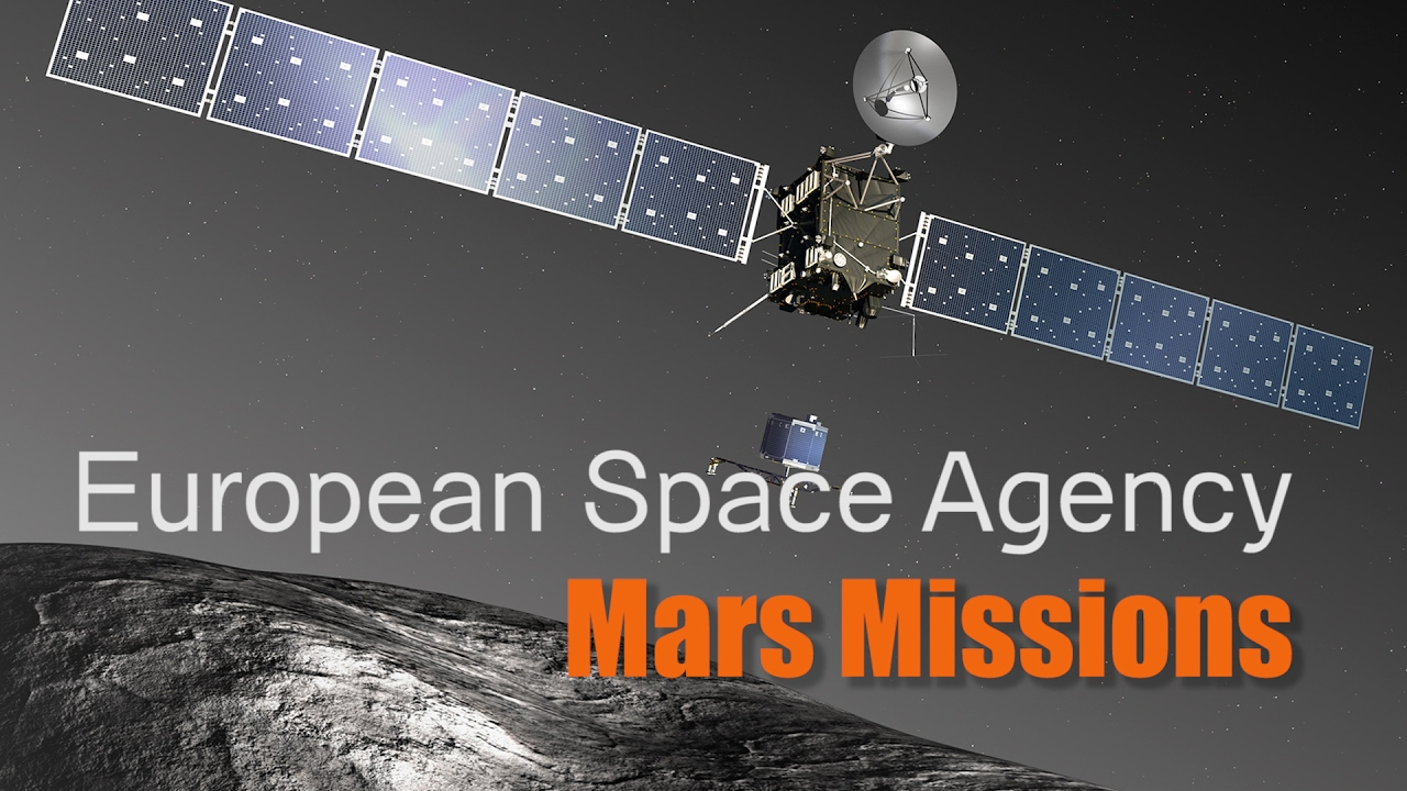 How will the European Space Agency Mars Missions ...