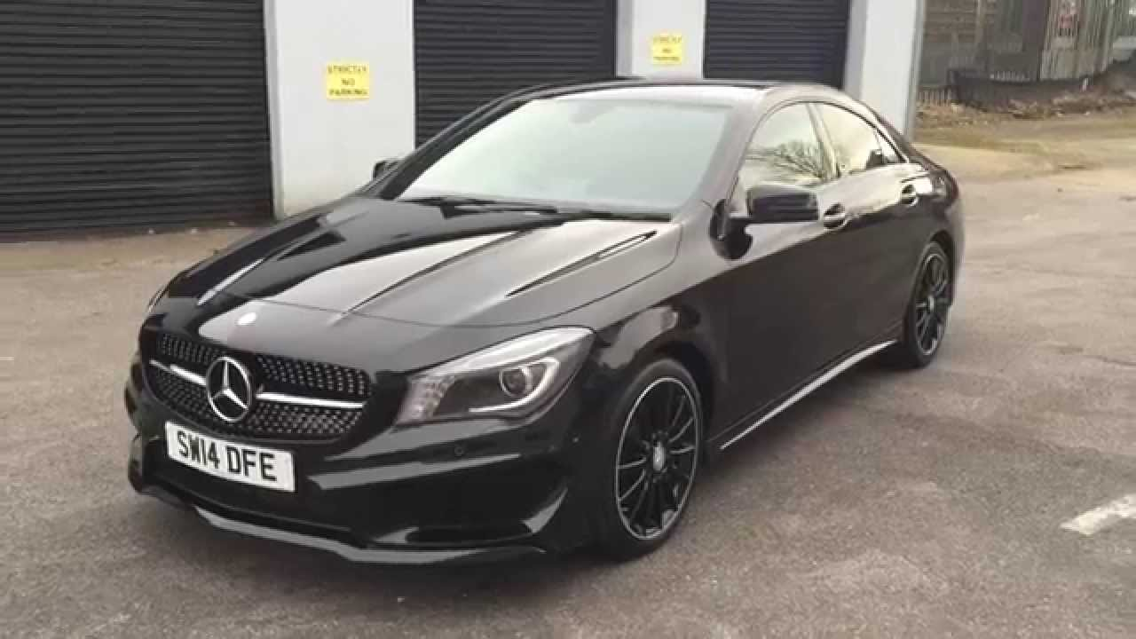 mercedes cla 220 amg sport youtube. Black Bedroom Furniture Sets. Home Design Ideas