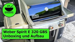 Weber Spirit E 320 Premium GBS Gasgrill - Unboxing und Aufbau mit KochMalSchnell