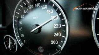 BMW 740d F01 Acceleration