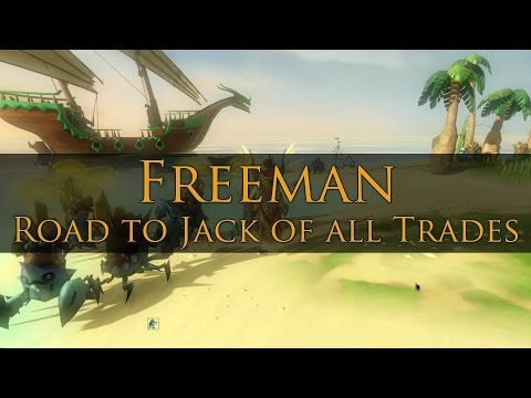 Freeman, Jack of all Trades - All Skilling Pets Obtained