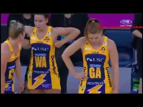 Netball Suncorp Super-Sunshine Coast Lightning W vs Collingwood Magpies W-AUSTRALIA & OCEANIA Netbal