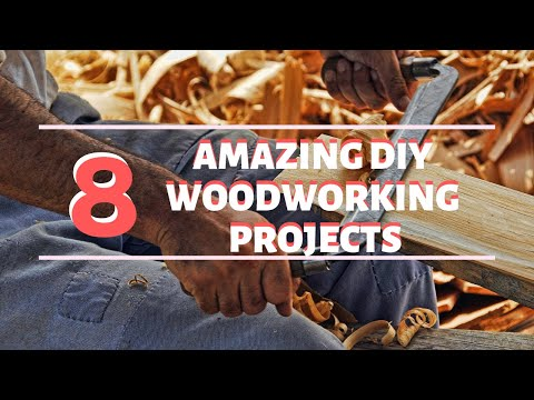 🛠 8 Amazing DIY Woodworking Projects 🛠