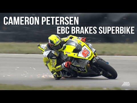 Cameron Petersen EBC Brakes Superbike at Pittsburgh