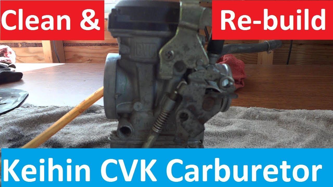 keihin cvk carburetor clean and rebuild kawasaki klr 250 [ 1280 x 720 Pixel ]