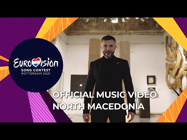 Vasil - Here I Stand - North Macedonia 🇲🇰 - Official Music Video - Eurovision 2021