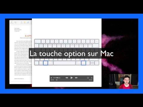 La Touche Option Sur Mac Youtube