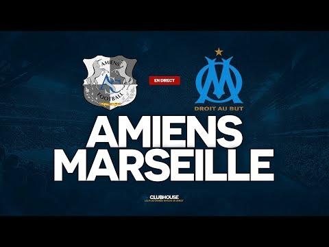🔴 AMIENS - MARSEILLE // ClubHouse (ASC - OM)
