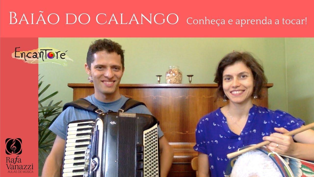 CONHEÇA O BAIÃO DO CALANGO, música da banda Encantoré | Aula de Sanfona