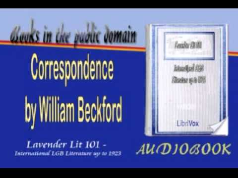 Correspondence, by William Beckford Audiobook