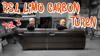 Die RS4 Limo bekommt Carbon Türen! Abholung und Lackierung -  Teil 3 | Philipp Kaess |