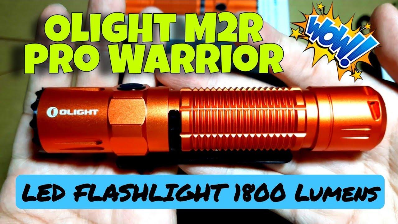UNBOXING: OLIGHT M2R PRO WARRIOR LED FLASHLIGHT ORANGE