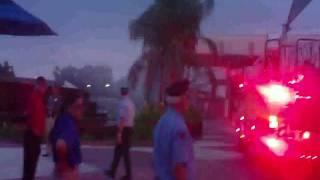 Epcot fire Response