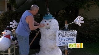Exit 10/55: The Man Behind The Massapequa Park Snowman