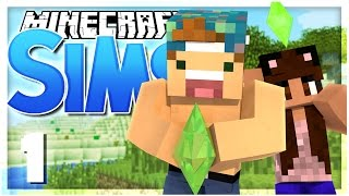 THE SIMS IN MINECRAFT!? | EP 1 | SimsCraft (Minecraft Youtuber Server)