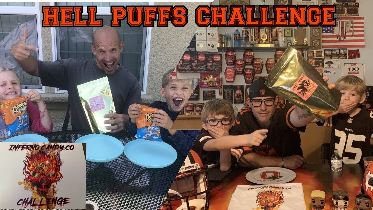 HELL PUFFS, Inferno Candy Co Challenge