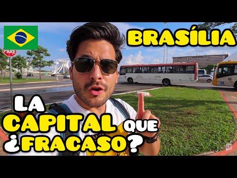 BRASILIA, La MODERNA CAPITAL de BRASIL que NO FUNCIONÓ como la IMAGINARON