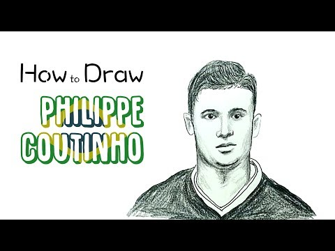 How to Draw Philippe Coutinho