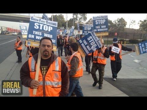 Striking LA Truckers Target Walmart Supply Chain