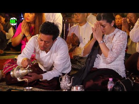 Donation Event Of Pyay Ti Oo & Eaindra Kyaw Zin Family