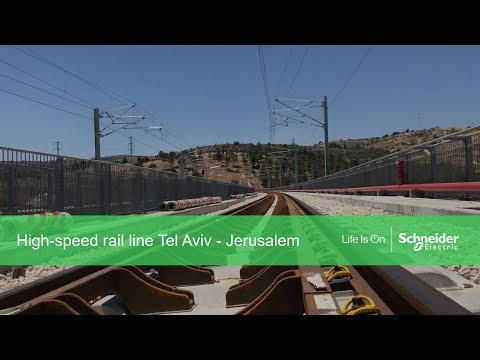 High-speed railway Tel Aviv - Jerusalem