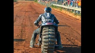 Top Fuel Motorcycle Dirt Drags 2