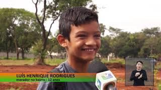 Vereadores em Ação - Édio Lopes no Campo Futebol do Jardim dos Industriários
