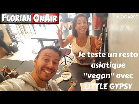 Je teste un resto asiatique vegan avec Little Gypsy  - VLOG #207