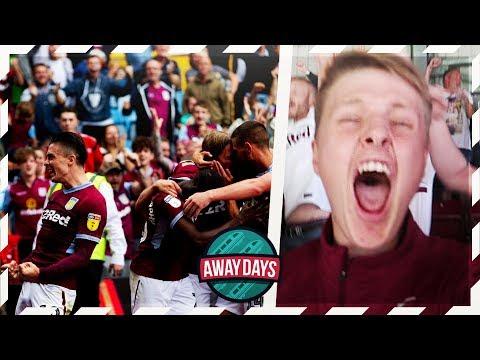 AWAYDAYS: ASTON VILLA VS WIGAN ATHLETIC - 90TH MINUTE SCENES!!