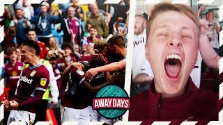 AWAYDAYS: ASTON VILLA VS WIGAN ATHLETIC - 90TH MINUTE SCENES!!