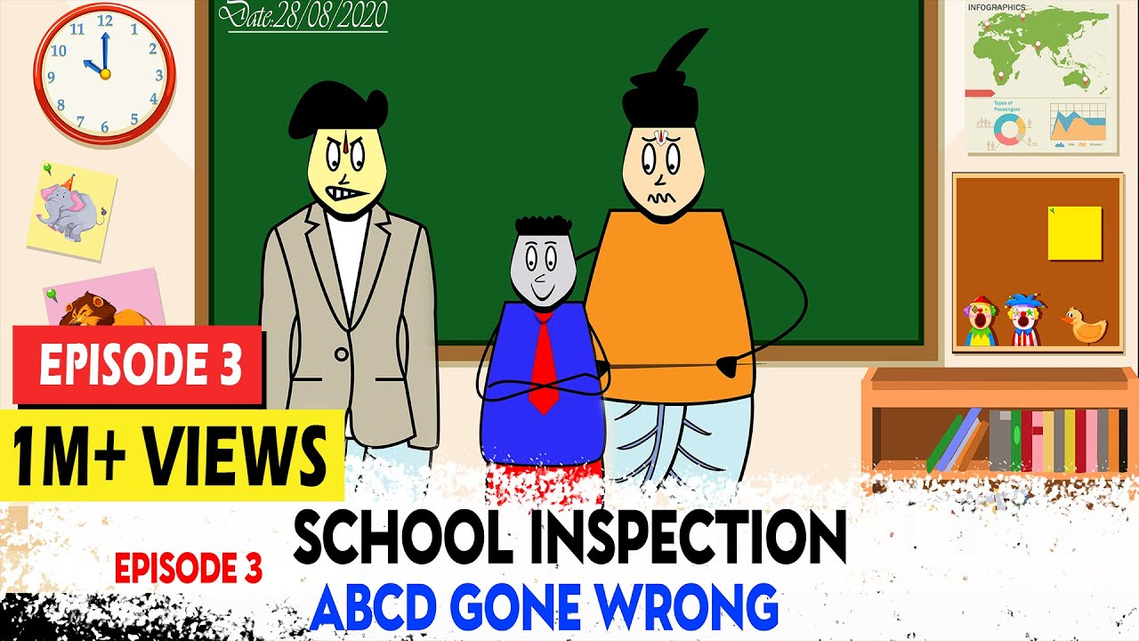 Download Aagam Baa||EPISODE 3: School Inspection|| పాఠశాల తనిఖీలు||ABCD Gone Wrong||