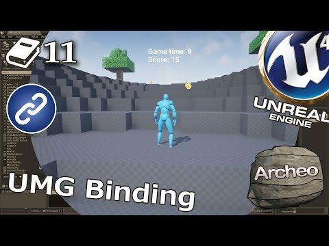 Unreal Engine 4 Guide - UMG Binding - YouTube