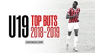 Le Top 5 des buts des U19 de l'OGC Nice - saison 2018-19
