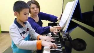 葉庭銨 哈察都量 小奏鳴曲第三樂章 上課練習