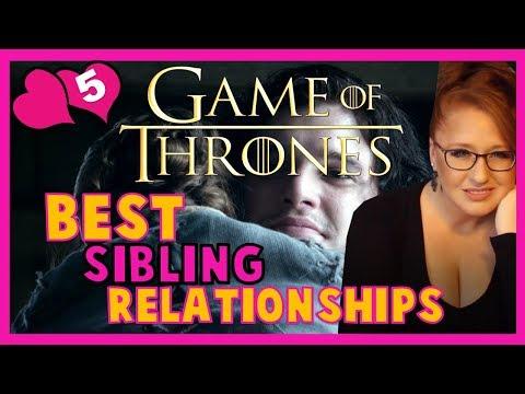 Best Sibling Relationships in Game of Thrones / ASOIAF