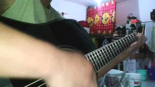 How to play Guilty by blue guitar cover