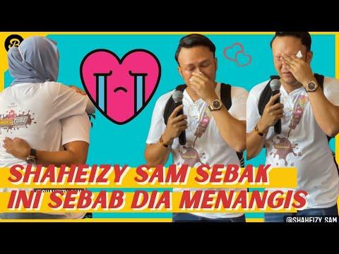 Shaheizy Sam Menangis, Mujur Syatilla Melvin Datang Peluk, Tiba-Tiba Teremosi Terkenang Masa Dia...