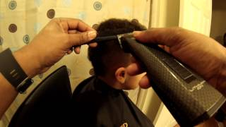 Frohawk with Oster Octane (Clipper over Comb)
