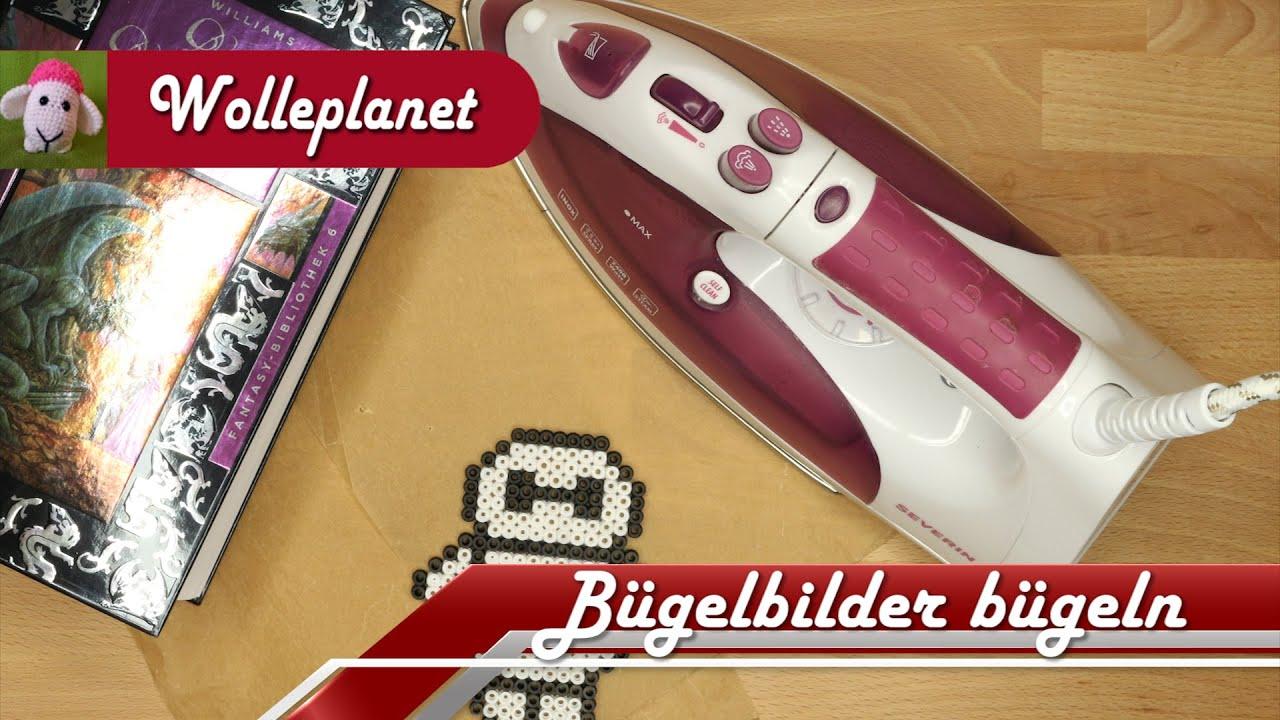 Fabulous Bügelperlen/Bügelbilder bügeln - YouTube VW07