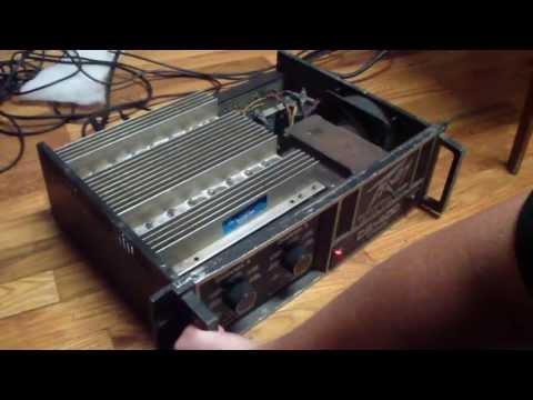 Peavey CS-400 Power Amplifer Repair. Part One Of Four.