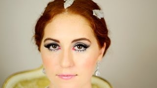 Jennifer Lawrence Hunger Games: Catching Fire Katniss Makeup & Hair + DIY Feather Hair Clips Thumbnail