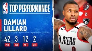 Damian Lillard Drops 42 PTS, 12 AST To Put Trail Blazers Into Play-In Game | NBA Restart