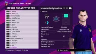 eFootball PES 2020 (PS4) - STEAUA BUCAREST CLASSIC ALL TIME XI (34/100)