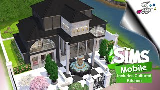 The Sims Mobile 🏡  NEW HOUSE + CULTURED KITCHEN 👩🏽🍳  NEW PACKS