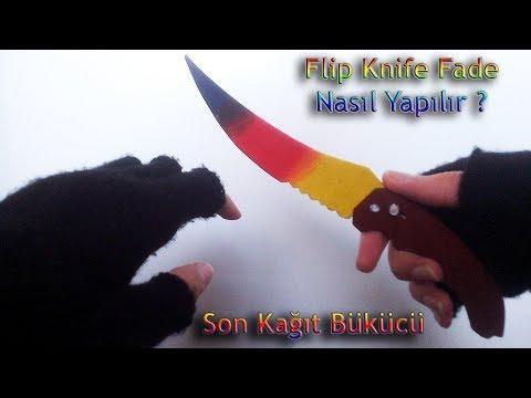 Kağıttan Flip Knife (Sustalı Bıçak) Nasıl Yapılır? [CS:GO] (3.Bölüm)