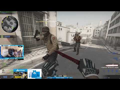 Shroud is back on CS:GO! Matchmaking with Just9n 12/31/17