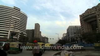 High-rise Buildings In Connaught Place, New Delhi
