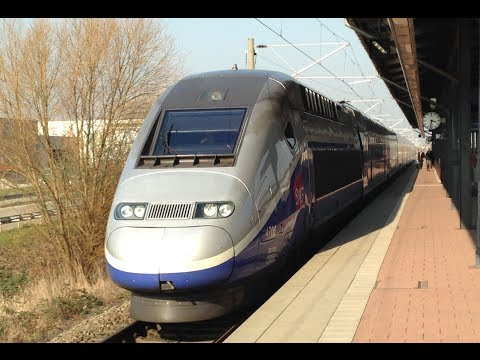 TGV Marseille-Frankfurt LGV Rhin-Rhone